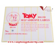 Decal Tomy A5 104
